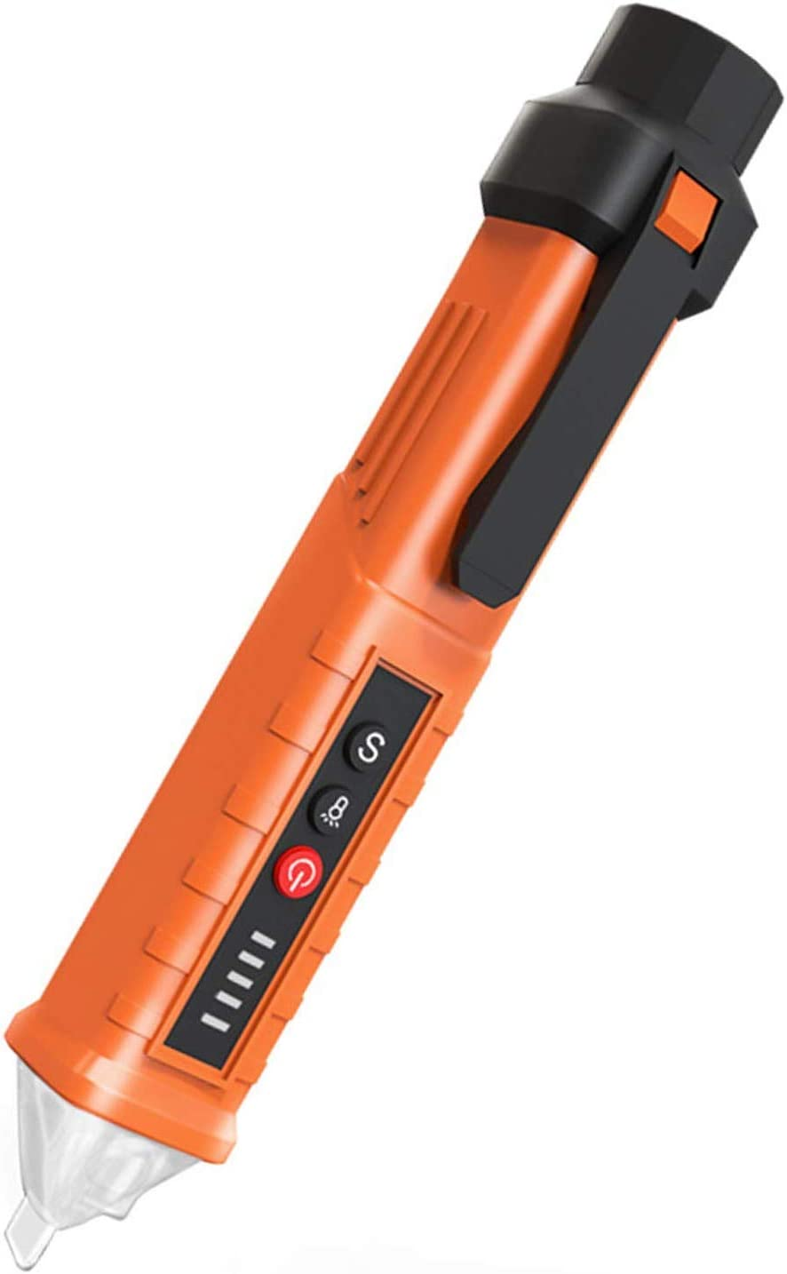 Details about  /AC Non-Contact LCD Electric Test Pen Voltage Digital Detector Tester 12~1000V WY
