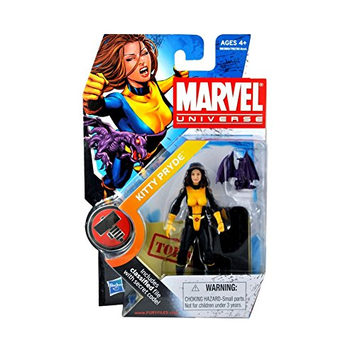 Marvel Universe 3 3/4 Inch Series 2 Action Figure #17 Kitty Pryde Lockheed