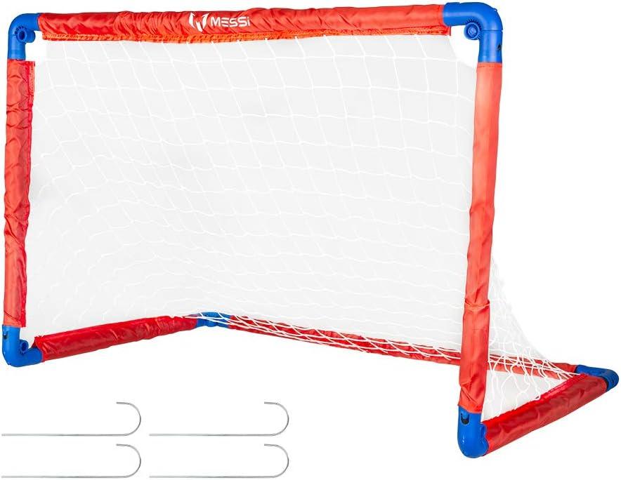 Messi Training System - Portería plegable fútbol (ColorBaby 48071)