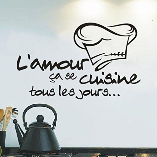 kitchen chef wall stickers - 4