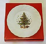 Nikko Ceramics Happy Holidays Dinner Plates, Set of 4