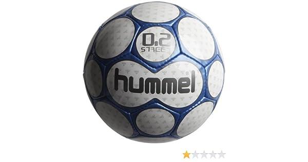 hummel 0,2 Streetball - Balón de fútbol Blanco White/Blue Talla:5 ...