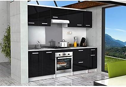 Caisson Cuisine 60 cm - Noir: Amazon.es: Hogar