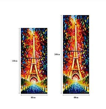 Acuarela Torre Noche Autoadhesivo Lavavajillas Refrigerador ...