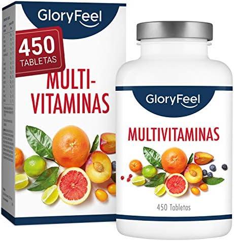Multivitaminas y Minerales – 450 Comprimidos