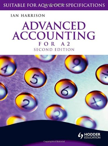 Advanced Accounting for A2