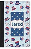 Patriotic Celebration Genuine Leather Passport Cover (Personalized)