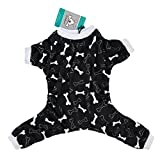 CuteBone Dog Pajamas Bone Dog Apparel Dog Jumpsuit Pet Clothes Pajamas P39L