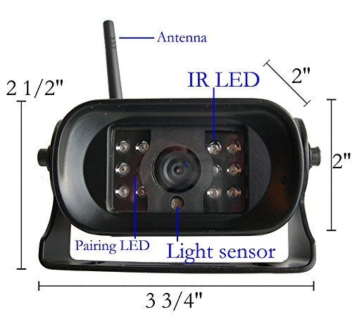 4ucam Digital Wireless Camera 7 Quot Monitor For Bus Rv