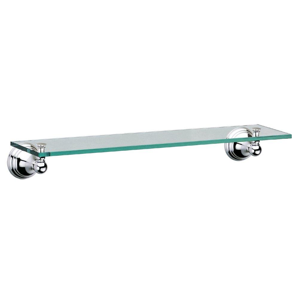 Gatco 4356 Charlotte Glass Shelf, Chrome