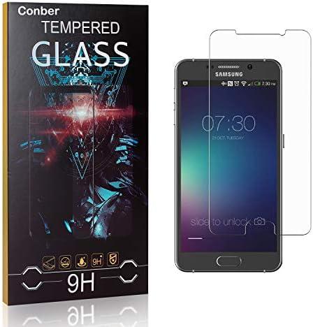 Conber [1 Stück] Displayschutzfolie kompatibel mit Samsung Galaxy Note 5, Panzerglas Schutzfolie für Samsung Galaxy...