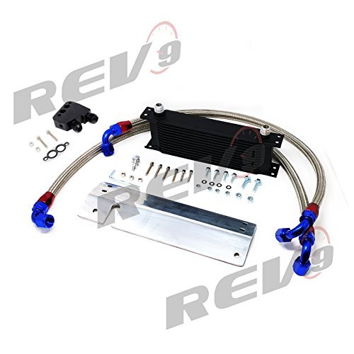 - Rev9(OCK-5130) Oil Cooler Kit For Chevrolet Corvette(C5); LS1 LS6 12 Row Bolt-On Oil Cooler Kit