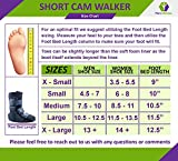 Mars Wellness Premium Polymer Low Top Cam Walker