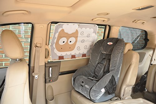 Fouring Car Sunshade For Baby - Polarised Lenses Do Do What