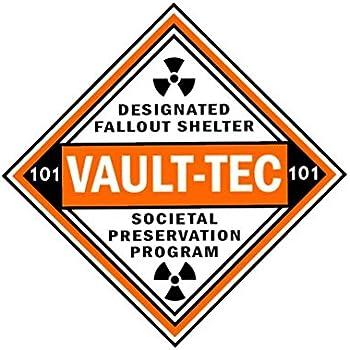 Amazon Com Vault Tec Designated Fallout Shelter Vinyl