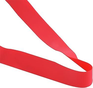 2 PCS 4 Tailles V/élo Jante Bande Jante Doublure de Pneu PVC Protection de Pneu Doublure de Protection Anti Puncture pour VTT V/élo de Route Rouge