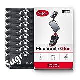 Sugru Moldable Glue - Black (Pack of 8)
