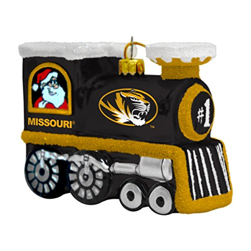(NCAA Missouri Tigers Train Ornament)