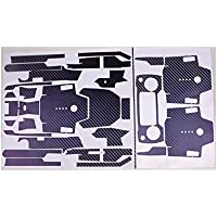 Teepao Skin for DJI Mavic Pro Luxury Precision DIY Carbon Fiber Decals Waterproof Stickers Drone Transmitter Battery Full Covers Set - (chameleon Purple to Blue)