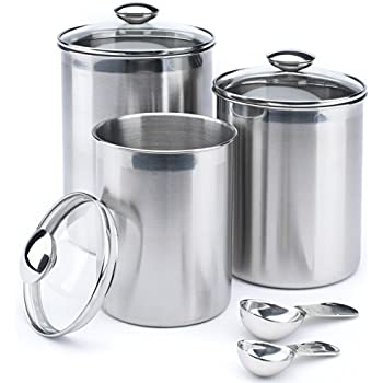 oggi kitchen canisters oggi 7 ceramic airtight canister set 14410