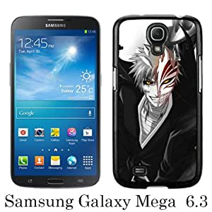 WOSN Guy Bleach Smile Sword Black Case Cover for Samsung Galaxy Mega 6.3 i9200 i9205