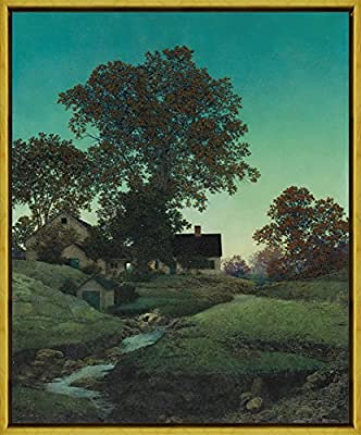 Maxfield Parrish Good Fishing Giclee Canvas Print Paintings Poster Reproduction