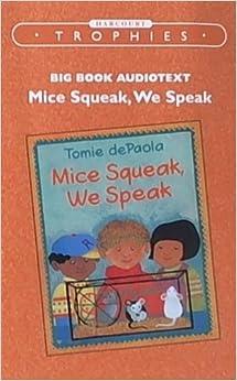 Mice Squeak, We Speak Journeys Kindergarten Unit 2 Lesson 7 Supp. Act.