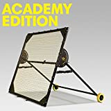 m-station Academy Soccer Rebounder and Soccer Training App Professional Training Equipment Practice Team Gear for Improving Soccer Skills World Leading Rebounder Used by Real Madrid 78 inch x 78 inch