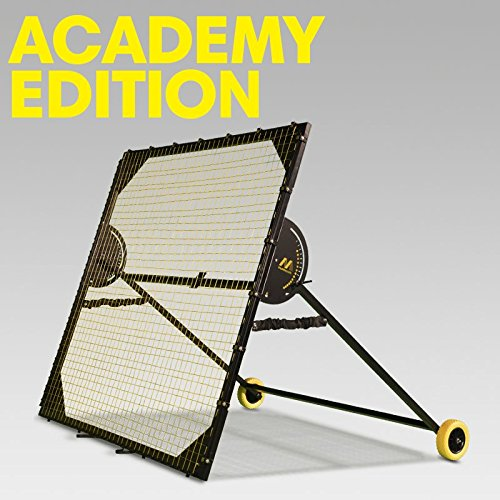 m-station Academy Soccer Rebounder and Soccer Training App Professional Training Equipment Practice Team Gear for Improving Soccer Skills World Leading Rebounder Used by Real Madrid 78 inch x 78 inch by M-Station