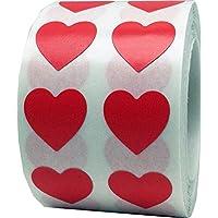 Red Heart Stickers Valentine