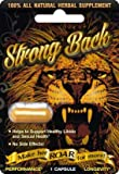 Strong Back Performance Power Longevity Male Enhancement Pill