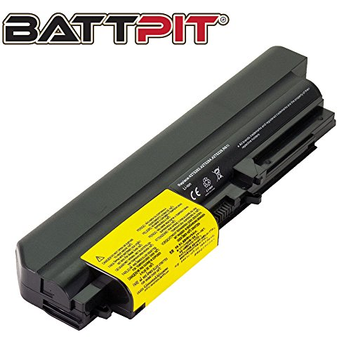 BattpitTM Laptop/Notebook Battery Replacement for Lenovo IBM ThinkPad R61 T61 14 in Widescreen ThinkPad Elite R400 T400 42T4547 41U3196 42T4530 (4400mAh / 48Wh)