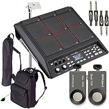 Roland SPD-SX Percussion Pad w/ RT-30K & RT-30HR Acoustic Drum Trigger, Stand, Carry Bag, Cable - Bundle