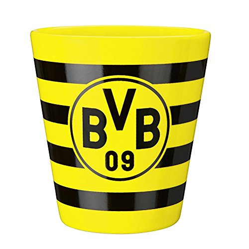 Official BORUSSIA DORTMUND BVB Yellow and Black hoop mug – DiZiSports Store