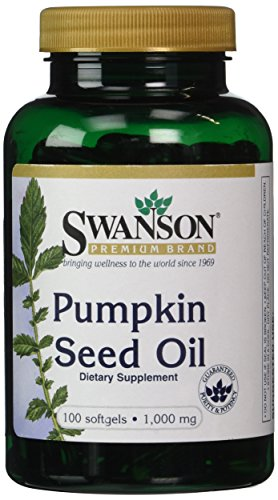 Swanson Pumpkin Seed Oil 1,000 mg 100 Sgels