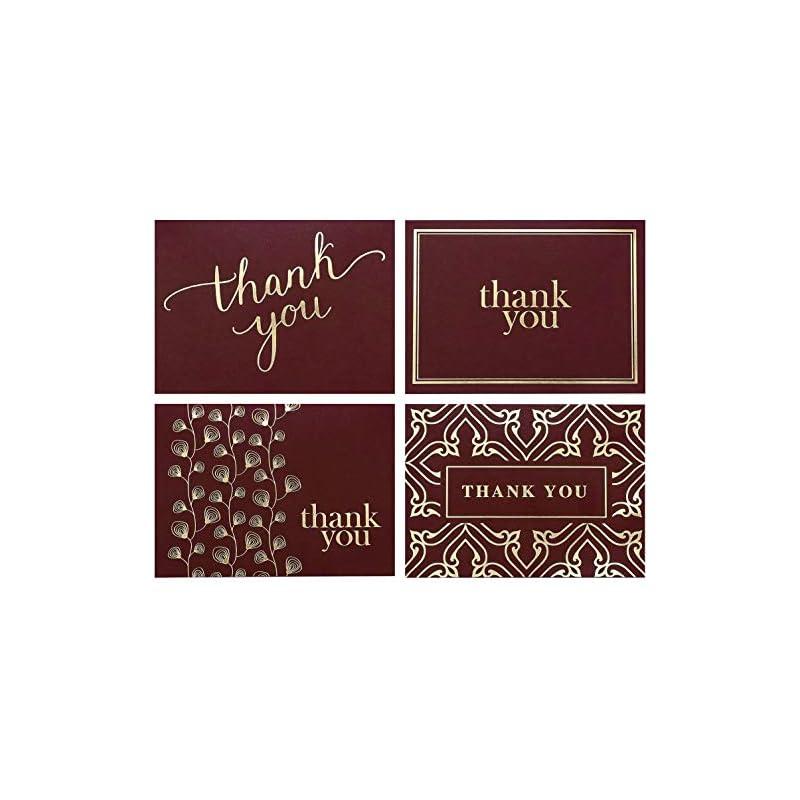 100 Thank You Cards Bulk - Thank You Not