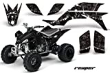 2007 yfz 450 graphics - Yamaha YFZ 450 2004-2013 ATV All Terrain Vehicle AMR Racing Graphic Kit Decal REAPER BLACK