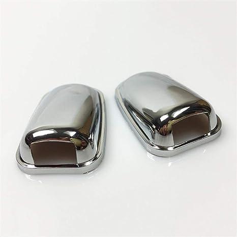 Color : Chrome Tergicristallo Chrome anteriore parabrezza rondella del parabrezza dellacqua della testa di ugello Wiper a getto dacqua di copertura Trim for Ford Focus Mondeo MK3 MK4 macchine