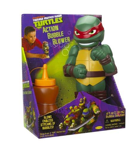 (Little Kids Teenage Mutant Ninja Turtles Action Bubble Blower, Raphael)