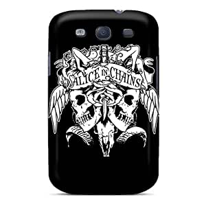 Flexible Back Case Cover For Galaxy S3 - Alice In Chains Rock Band