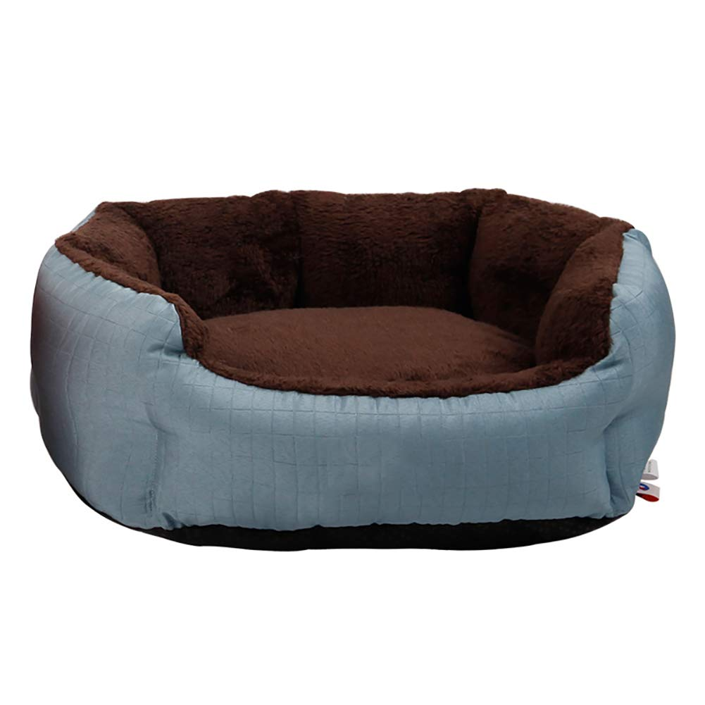 51×45×18cm ZXL Orthopedic Pet Bed, for Small Dogs and Cats, Comfortable and Warm, Removable and Washable, bluee (Size   51×45×18cm)