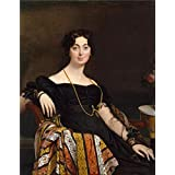 Canvas Prints Of Oil Painting ' Jean Auguste Dominique Ingres-Jacques-Louis Leblanc,1823' 24 x 31 inch / 61 x 79 cm , Polyster Canvas Is For Gifts And Hallway, Living Room And Powder Room Decoration