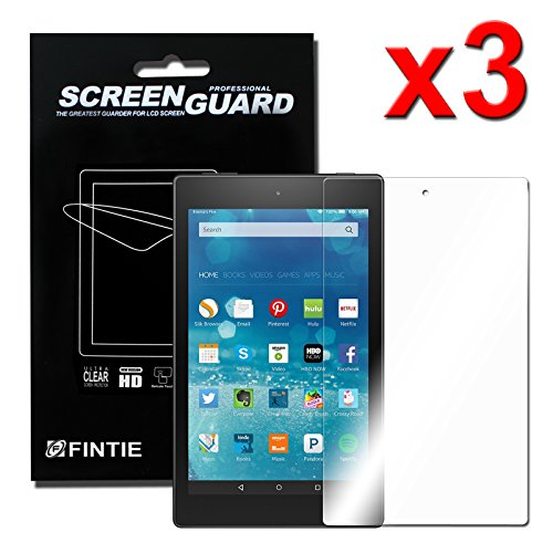 Fintie Screen Protector for Amazon Fire HD 8  -  Screen
