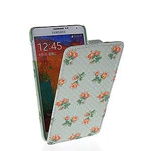 FCKASE Carcasa Cuero Caso Tapa Funda Case Para Samsung Galaxy Note 3 N9000