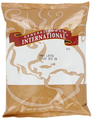 General Foods Chai Latte Tea Instant Coffee Mix, 2 lb. pack, Pack of 6
