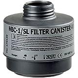 AVEC CHEM - Spezial-Atemschutzfilter Standard, für eine Vielzahl an Nuklear-Biologisch-Chemischischen Stoffen (ABC) Rd 40 wie Cyanwasserstoff, Chlorcyan, Senfgas und andere giftige Substanzen