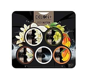 Delon Body Butter 5pc Variety Pack w/ Vitamin E