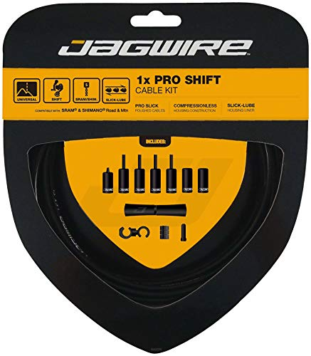 Jagwire 1x Pro Shift Kit Road/Mountain SRAM/Shimano 4mm (Black)