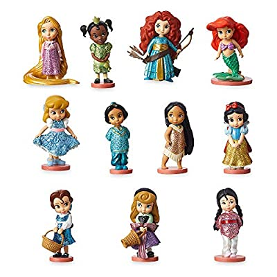 Disney Animators' Collection Deluxe Figurine Set No Color