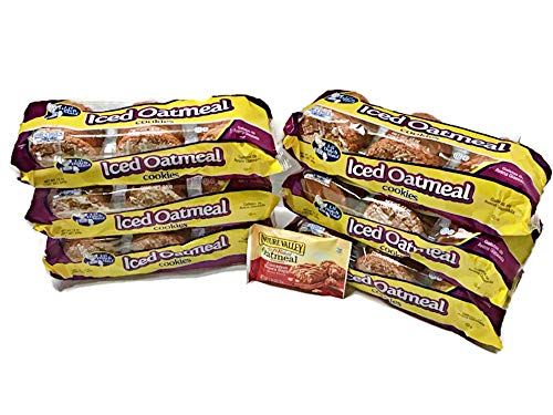 ICED Oatmeal Cookies Value 6pk / 12oz INCLUDE (1) Oatmeal Cinnamon Treat